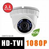 HD-TVI Camera 2.8mm Lens 2.1MP Full HD 1080p Platinum Turret UL LTS CMHT2122-28
