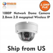 1080p 2MP Hikivision OEM DS-2CD2120F-IW Dome Camera 2.8mm Lens IPC66 IP Wireless PoE  IPC-D3328W