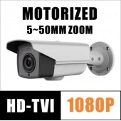 2MP HD-TVI 1080P CAMERA MOTORIZED ZOOM WDR LPR HIKVISION OEM DS-2CE16D9T-AIRAZH TVI-B550ZH