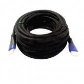 907070 - Cable HDMI 30FT Blue Mesh