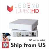 4 Channel EPCOM powered by Hikvision TurboHD DVR 1080p, ANALOG, IP, HD-TVI, AHD