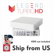 8 Channel EPCOM powered by Hikvision TurboHD DVR 1080p, ANALOG, IP, HD-TVI, AHD
