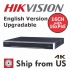 16CH 4K NVR MS-8816NI-I2/16P 16 POE HIKVISION OEM 2 SATA 12MP IP CAMERA UL LISTED