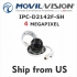 4MP Network Camera  IPC-D2142F-SH 3axis Dome IP Cam 4mm Lens Firmware Upgradable