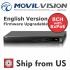 8CH Network Video Recorder HD 1080P 8x POE Firmware Upgradable MS-8808NI-E2-8P