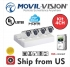 Kit 4CH DVR 4IN1,4 Camera 2MP Bullet 2.8mm 20m IR ,1TB HDD MV2A441 MOVIL-VISION
