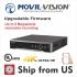 MS-9732NI-K4: 32 CH NVR NO POE 4K 8MP 4 SATA UL LISTED Movil-Vision NO HDD